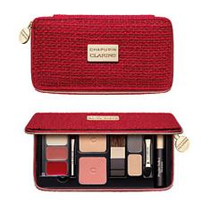 CLARINS Набор для праздничного макияжа Palette de Maquillage Chapurin 0,8 г; 0,8 г; 0,8 г; 5 г; 5 г; 3 мл; 2х1,4 г