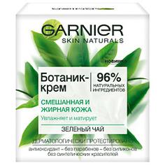"""GARNIER Ботаник-крем для лица """"Зеленый Чай"""", матирующий, для смешанной и жирной кожи 50 мл"""