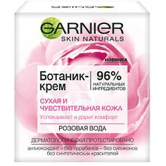 """GARNIER Ботаник-крем для лица """"Розовая вода"""", успокаивающий, для сухой и чувствительной кожи 50 мл"""