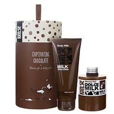 DOLCE MILK Подарочный набор Молоко и шоколад 88 300 мл + 200 мл