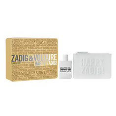 ZADIG&VOLTAIRE Подарочный набор This is Her! Парфюмерная вода, спрей 50 мл + косметичка Zadig&Voltaire