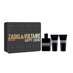 ZADIG&VOLTAIRE Подарочный набор This is Him! Туалетная вода, спрей 50 мл + Гель для душа 50 мл Zadig&Voltaire