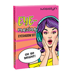 MISSLYN 3-х цветные тени для век Eye-Mazing № 87 OH LA LA I NEED IT 3х0,7 г