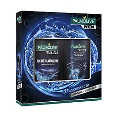 """PALMOLIVE Подарочный мужской набор """"Экстра свежесть"""" Гель для душа Cеверный Океан 250 мл + Шампунь 200 мл"""