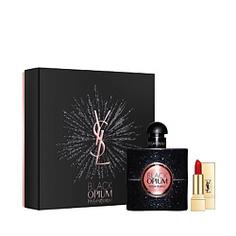 YSL Набор Black Opium Парфюмерная вода, спрей 50 мл + № 01 миниатюра Yves Saint Laurent