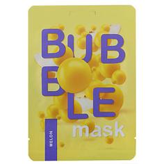 """ЛЭТУАЛЬ Пузырьковая маска для лица с экстрактом дыни """"Очищение и защита"""" Funky Fun 1 шт."""