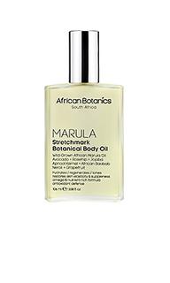 Масло для тела от растяжек с растительными экстрактами marula - African Botanics