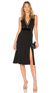Платье с вырезом v harlow - A.L.C.