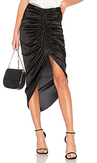 Шелковая юбка the amanda - CAMI NYC