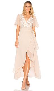 Платье с запахом radley - Cleobella