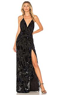 Прозрачное платье макси jet lagged - Chrissy Teigen