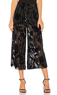 Прозрачные брюки с высоким поясом jet lagged - Chrissy Teigen