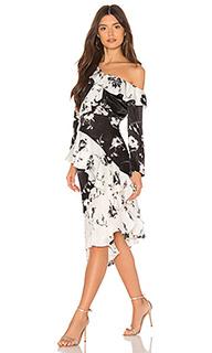 Платье миди lily - DELFI