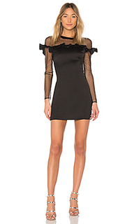 Мини-платье с длинным рукавом trixie - devlin