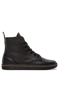 Ботинки с 7 рядами шнуровки leyton - Dr. Martens