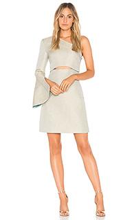 Платье с одним плечом valencia - ELLIATT