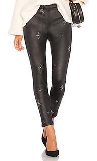 Облегающие брюки embellished vegan - Free People