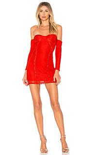 Мини-платье с открытыми плечами lexi - h:ours
