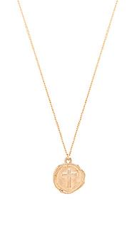 Ожерелье cross coin - joolz by Martha Calvo