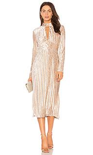 Платье миди veronica - THE JETSET DIARIES