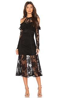 Платье миди aphrodite - THE JETSET DIARIES
