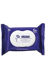 Салфетки для снятия макияжа cornflower - Klorane