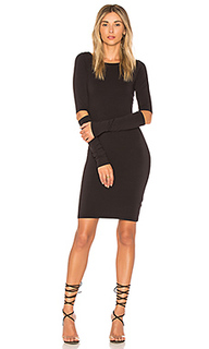 Платье с длинным рукавом bobbi - LA Made