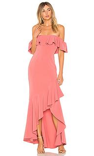 Вечернее платье с открытыми плечами cabrera - LIKELY