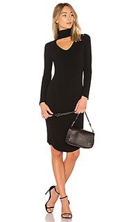 Платье с воротником-водолазка letta - LNA