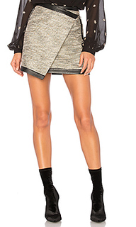 Мини-юбка с асимметрическим подолом riley - Lovers + Friends