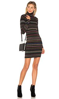 Облегающее платье metallic stripe - MILLY