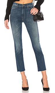 Прямые джинсы high waist rascal - MOTHER