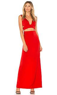 Вечернее платье с глубоким v-образным вырезом timeless - NBD