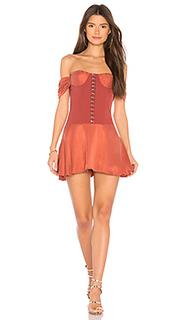 Мини-платье с открытыми плечами aabria - NBD