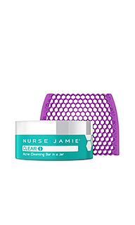 Очищающее мыло от акне в банке clear 1 - Nurse Jamie