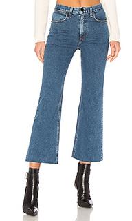 Широкие джинсы ankle justine - rag & bone/JEAN