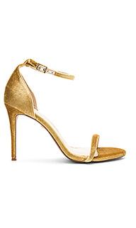 Босоножки на каблуке с открытым носком blake - RAYE