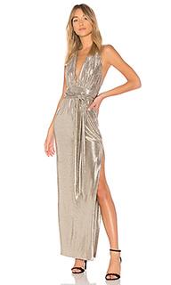 Вечернее платье metallic halter - RACHEL ZOE