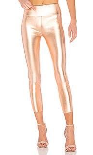 Кожаные легинсы high waist 3/4 - SPRWMN