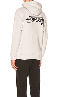 Худи smooth stock - Stussy
