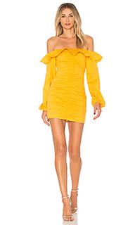 Мини-платье с открытыми плечами zuri - Tularosa