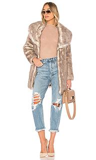 Длинное пальто elixir - Unreal Fur