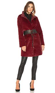 Пальто из искусственного меха mina - Velvet by Graham & Spencer