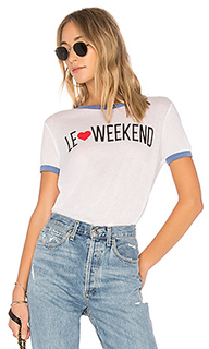 Футболка le weekend - Wildfox Couture