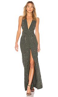 Вечернее платье с украшениями karolina - X by NBD