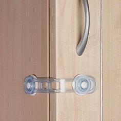 Универсальный защитный замок для дверей, Clippasafe, белый