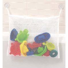 Сумка-мешок для игрушек в ванной, Clippasafe, белый
