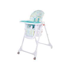 Стульчик для кормления Fiesta, Baby Care, голубой