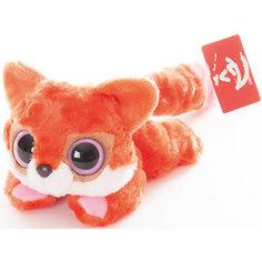 Мягкая игрушка Лисица красная лежачая, 16 см, Юху и друзья, AURORA