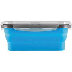 Силиконовый контейнер для еды с крышкой EL-350, Mallony